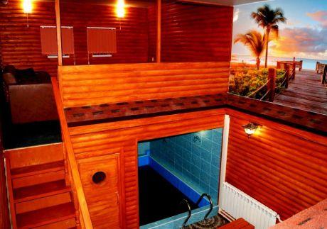 гостиная в сауне Панама